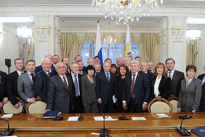 Профессор В.В. Полянский встретился с Президентом РФ В.В. Путиным