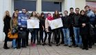 Преподаватели кафедры организовали экологическую акцию «Пожиратели незаконной рекламы»